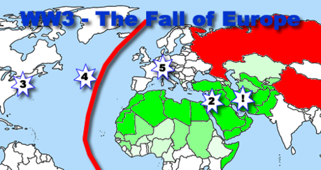 World War III and the Fall of Europe in Five Easy Steps